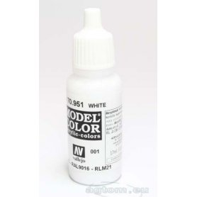 VALLEJO Model Color 1. White 70951