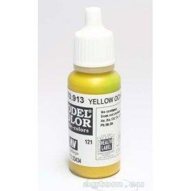 VALLEJO Model Color 121. Yellow Ochre 70913