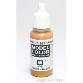 VALLEJO Model Color 131. Orange Brown 70981