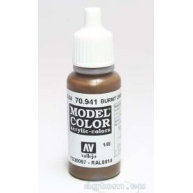 Vallejo Model Color 148. Burnt Umber 70941