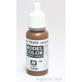 VALLEJO Model Color 149. Chocolate Brown 70872