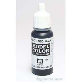 VALLEJO Model Color 169. Black 70950