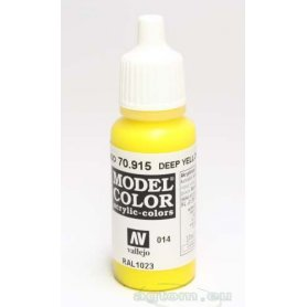 VALLEJO Model Color 14. Deep Yellow 70915