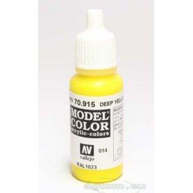 VALLEJO Model Color 14. Deep Yellow 70915