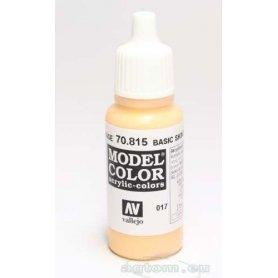 VALLEJO Model Color 17. Basic Skintone 70815