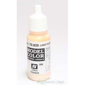VALLEJO Model Color 6. Light Flesh 70928