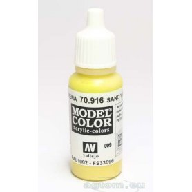 Vallejo Model Color 009. Sand Yellow 70916