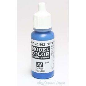VALLEJO Model Color 56. Flat Blue 70962