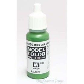 Vallejo Model Color 080. German Camouflage Bright Green 70833 / RAL 6025