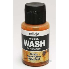 Wash Vallejo 76505 Light Rust