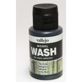 Wash Vallejo 76518 Black