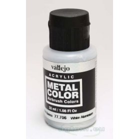 VALLEJO Metal Color 77706 White Aluminium