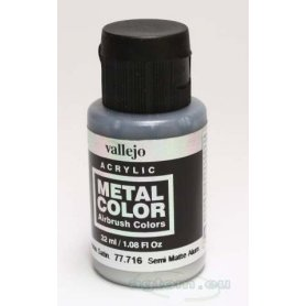 VALLEJO Metal Color 77716 Semi Matte Aluminium