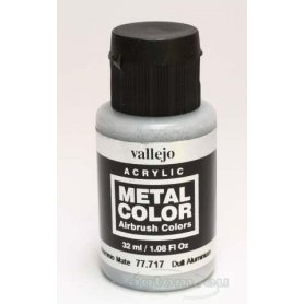 VALLEJO Metal Color 77717 Dull Aluminium