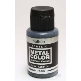 VALLEJO Metal Color 77720 Gunmetal Grey