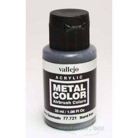 VALLEJO Metal Color 77721 Burnt Iron