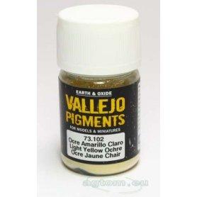 Pigment Vallejo 73102 Light Yellow Ochre