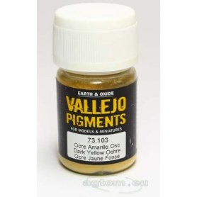 Pigment Vallejo 73103 Dark Yellow Ochre