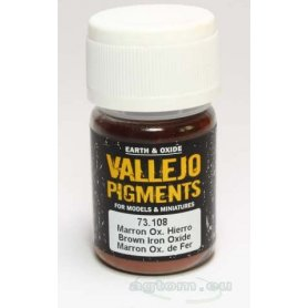 Pigment Vallejo 73108 Brown Iron Oxide