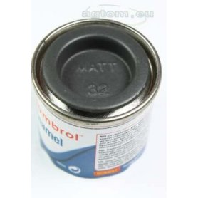 Farba Humbrol Enamel 32 Dark Grey Matt