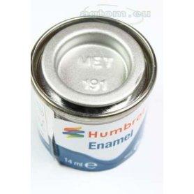 Farba Humbrol Enamel 191 Chrome Silver Metallic