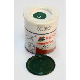 Farba Akrylowa Humbrol 3 Brunswick Green Gloss