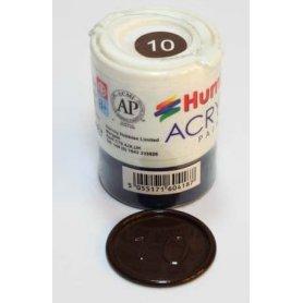 Farba Akrylowa Humbrol 10 Service Brown Gloss
