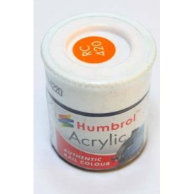 Farba Akrylowa Humbrol 420 Orange Lining
