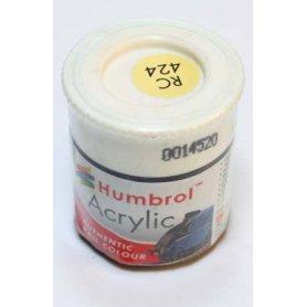 Farba Akrylowa Humbrol 424 BR Cream