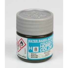 Mr.Hobby Color H008 Silver - METALICZNY - 10ml