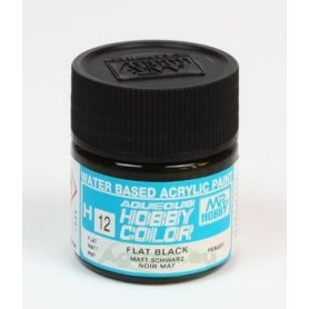 Mr.Hobby Color H012 Black - MATOWY - 10ml