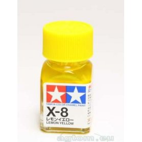 Tamiya Enamel X-8 Lemon Yellow Gloss
