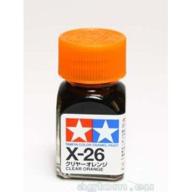Tamiya Enamel X-26 Clear Orange