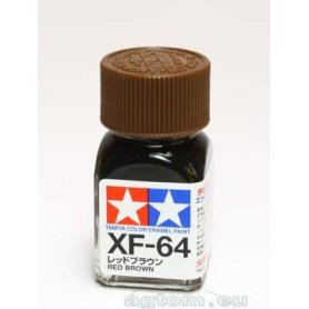 Tamiya Enamel XF-64 Red Brown
