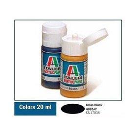 Italeri 4695 Akryl Gloss Black