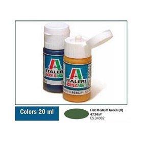 ITALERI 4734 AKRYL FLAT MED. GREEN