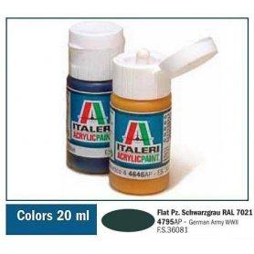 Italeri 4795 Akryl Pz.Schwarzgrau