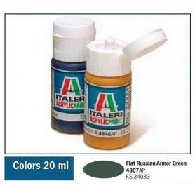 Italeri 4807 Akryl Rus. Armor Green