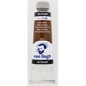 Farba olejna Talens Van Gogh Burnt Umber