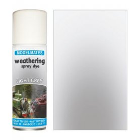 Modelmates Weathering Spray Dye – Light Grey