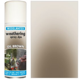 Modelmates Weathering Spray Dye – Oil Brown
