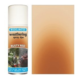 Modelmates Weathering Spray Dye – Rusty Red