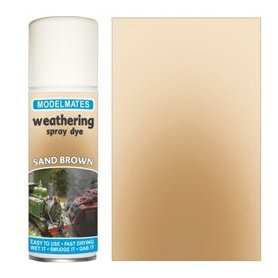 Modelmates Weathering Spray Dye – Sandy Brown
