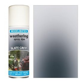 Modelmates Weathering Spray Dye – Slate Grey