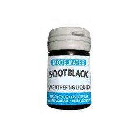 Modelmates Weathering Liquid – Soot Black
