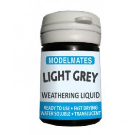 Modelmates Weathering Liquid – Light Grey