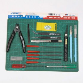 U-STAR UA-90076 Modeling Tool Set 18 in 1