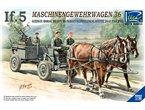 RIIch Rv35012 German If-5 Horse Drawn MG Wagon