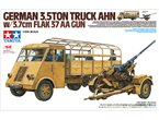 Tamiya 1:48 German 3,5ton Truck AHN 3,7cm Flak 37