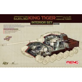 Meng SPS-037 King Tiger (Henschel turret) interior